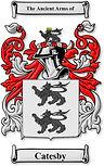 Arms of de Catesby