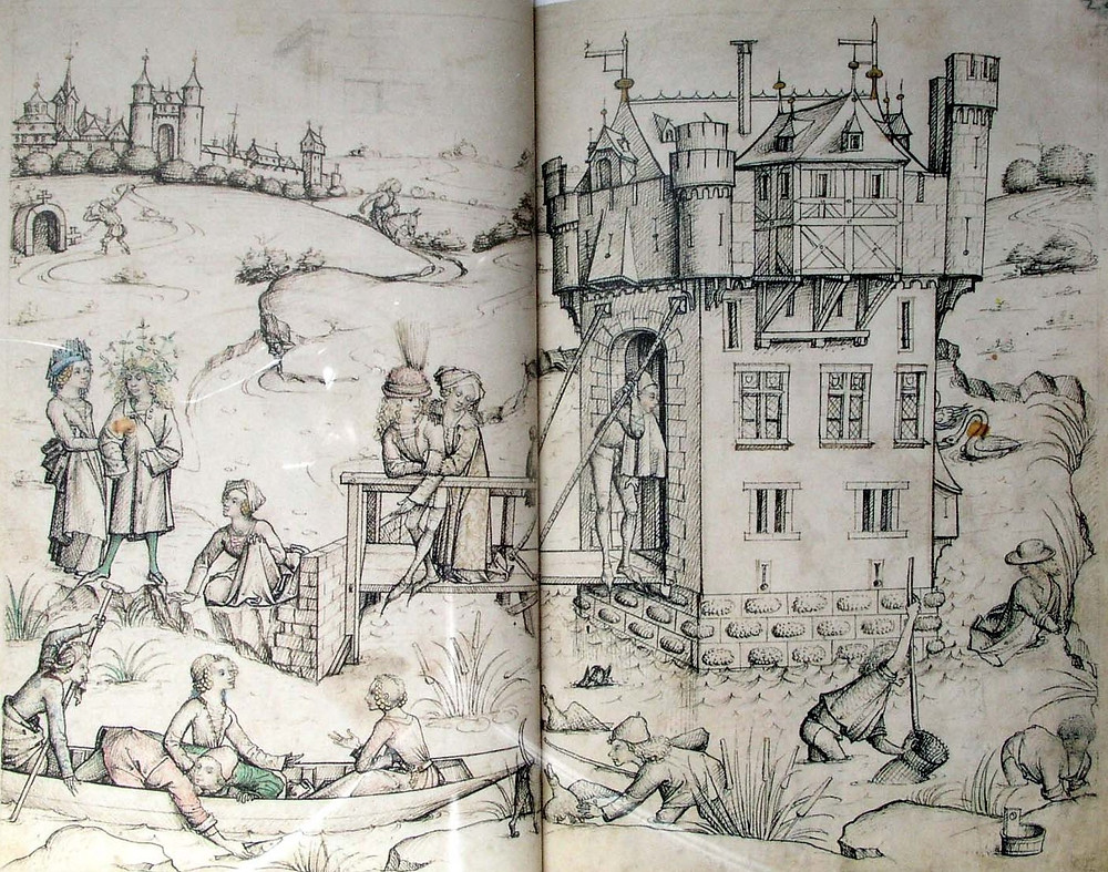 From 'The Medieval Housebook'