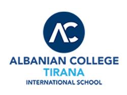 ALBANIAN COLLEGE TIRANA BANNER