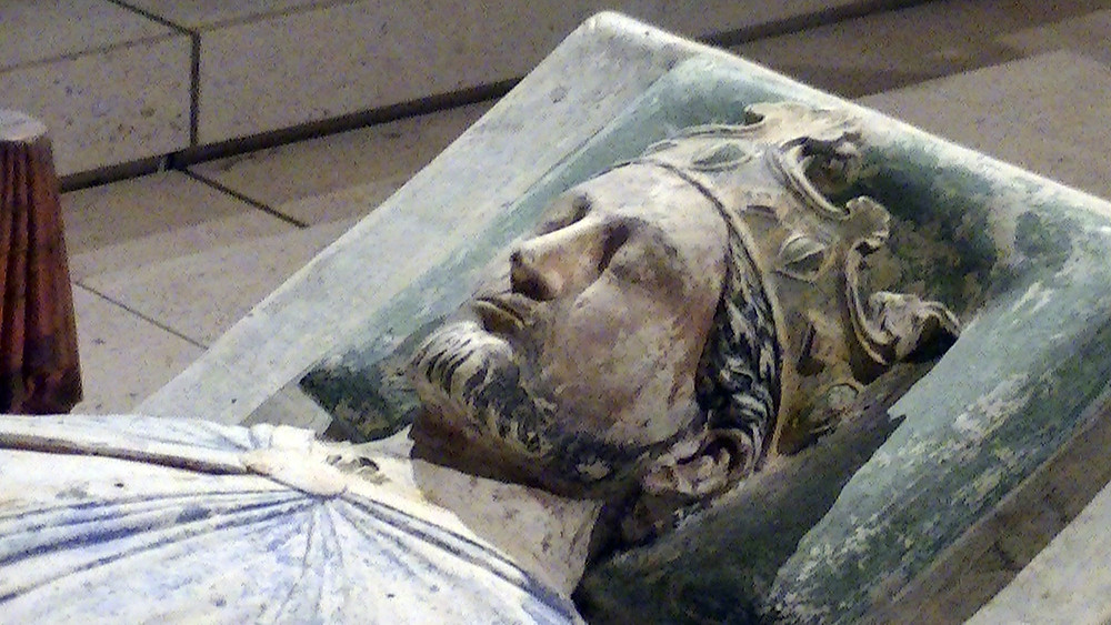Effigy of Richard I at Fontevraud Abbey, Anjou