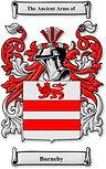 Arms of de Burneby