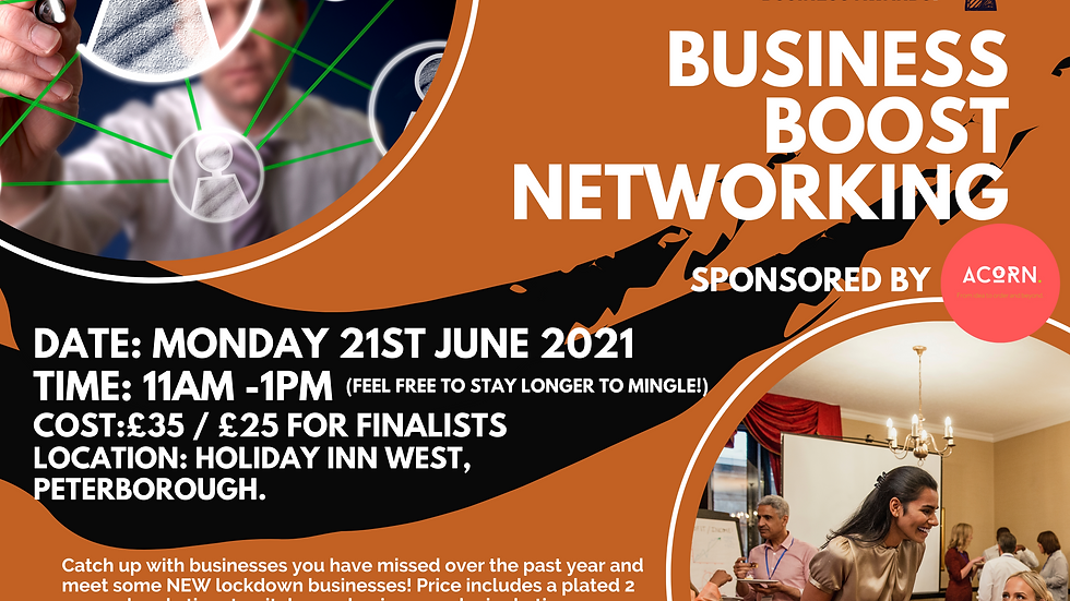 21st June Business Boost Networking Event