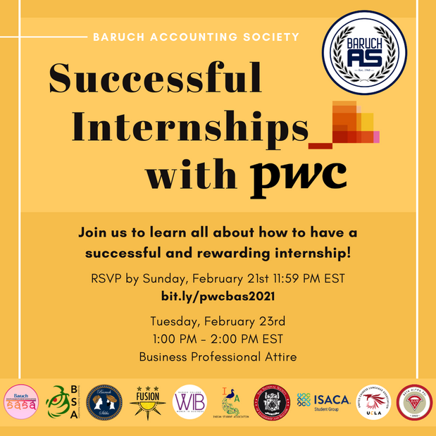 Successful Internships with PwC