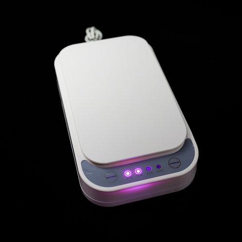 Esterilizador / aromatizador por UV para telemóveis