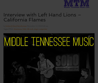 Left Hand Lions Middle Tennesse Music