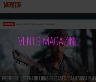 Left Hand Lions Vents Magazine