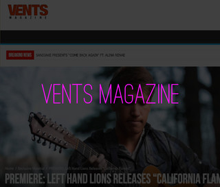 Left Hand Lions Vents Magazine