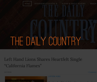 Left Hand Lions The Daily Country