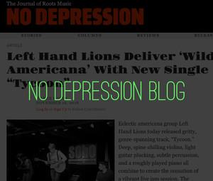 Left Hand Lions - No Depression