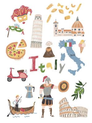 Travel Italy Art Print