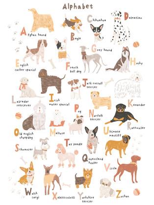 ABC Dog Print