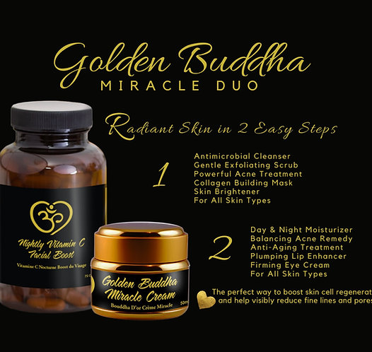 Golden Buddha Miracle Duo