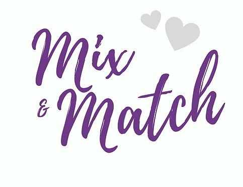 Mix & Match Sale