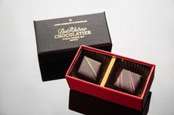 婚禮小物珠寶盒2入(夾心巧克力)