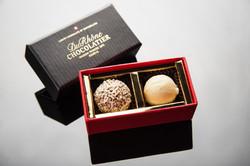 婚禮小物珠寶盒2入(松露巧克力)