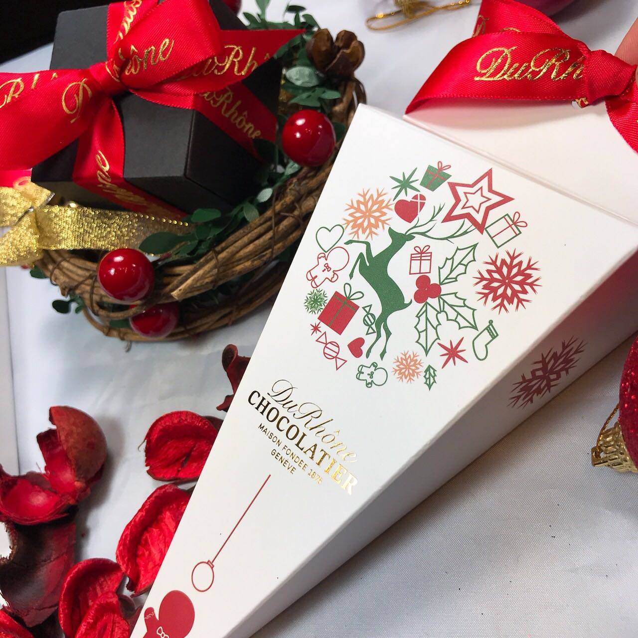 聖誕限定-巧克力棒棒糖!