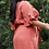 Thumbnail: Terra Cotta Ruffle Sleeve Dress