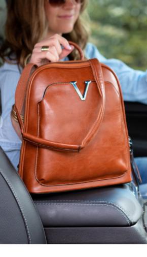 V Convertible Bag Backpack