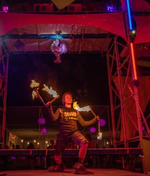 Burning Man GlamCocks Performance 2019