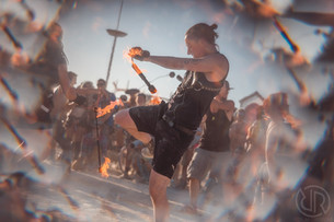 Burning Man El Diabla Openning Ceremony 2019