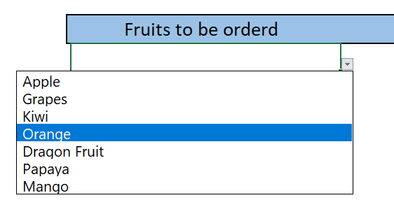 how do i create a drop-down list in excel