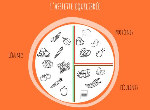 Qu'est-ce qu'une assiette équilibrée ?