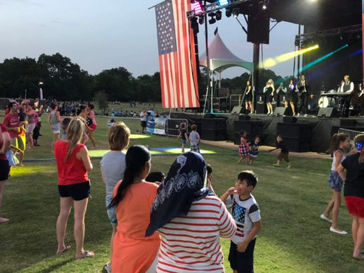 Coppell Celebrates 4th of July in the Park