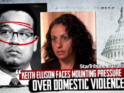 Keith Ellison Joins the Democratic Party's Roster of Hypocritical Domestic Abusers
