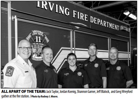 Women help strengthen Irving Fire Department