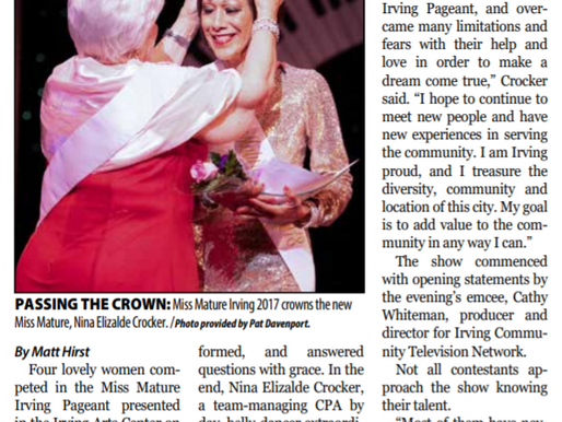 Miss Mature Pageant honors age, beauty