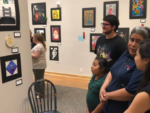 Students Display Art in Irving Arts Center