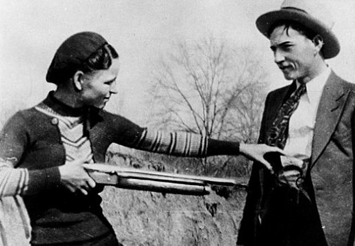 Historical Series: Bonnie and Clyde live fast, die young