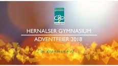 I'm dreaming of ... | Adventfeier des Hernalser Gymnasiums