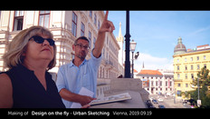 THE MAKING OF Urban Sketching - Design on the fly