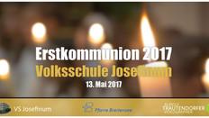 Erstkommunion Volksschule Josefinum