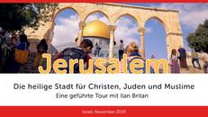 Jerusalem   Die heilige Stadt für Christen, Juden und Muslime   VIDEO