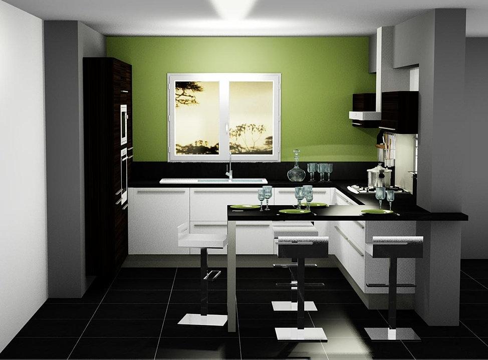 Menuis art cuisine moderne cuisine design dressing vichy for Cuisine moderne 974