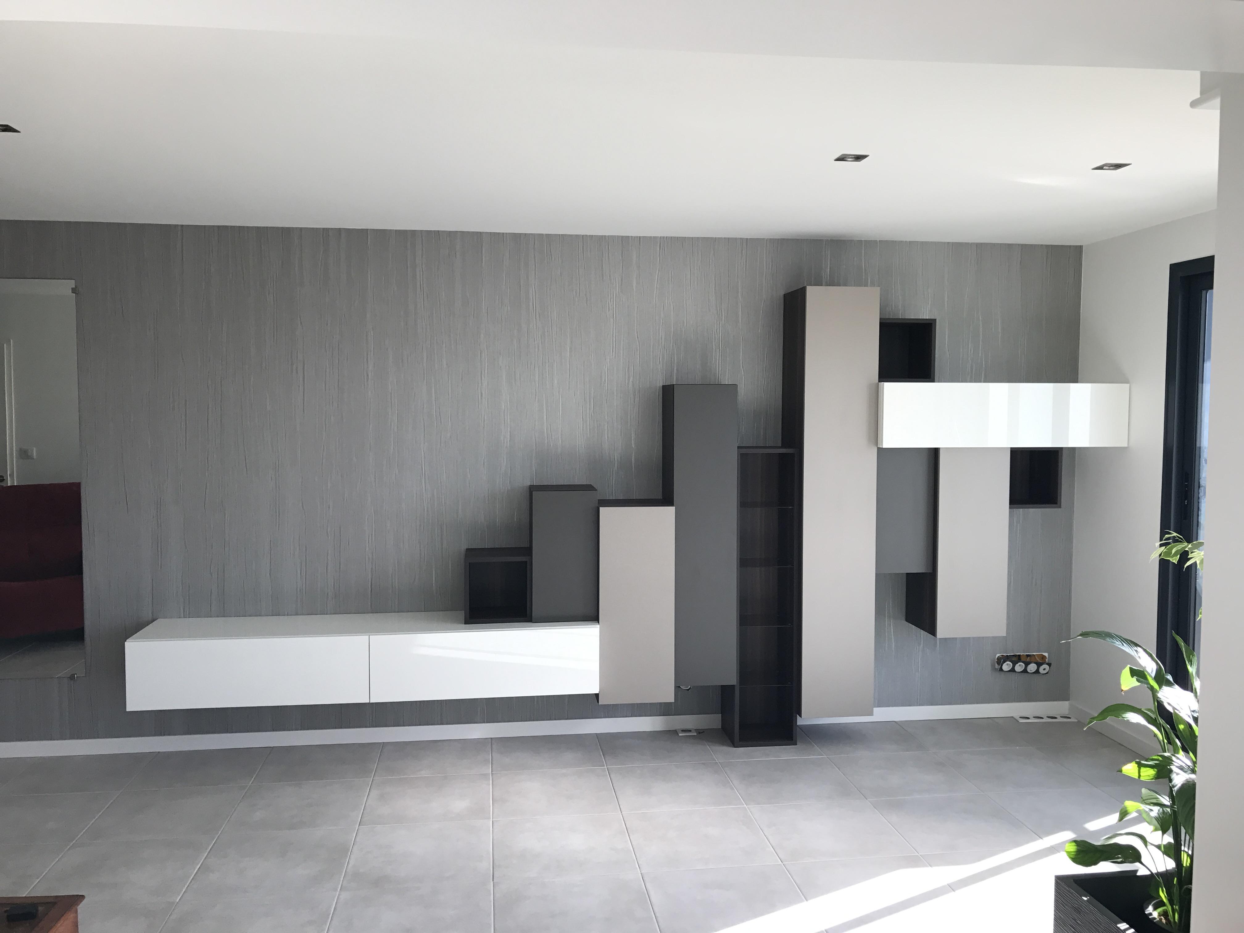 Composition de meuble TV design