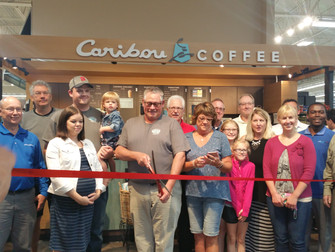 Caribou Coffee at Willie's Super Valu
