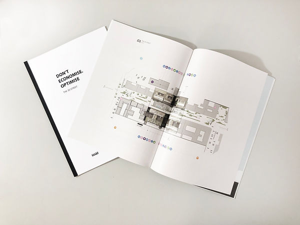 3D Street_ Book, Urban Design Concept by