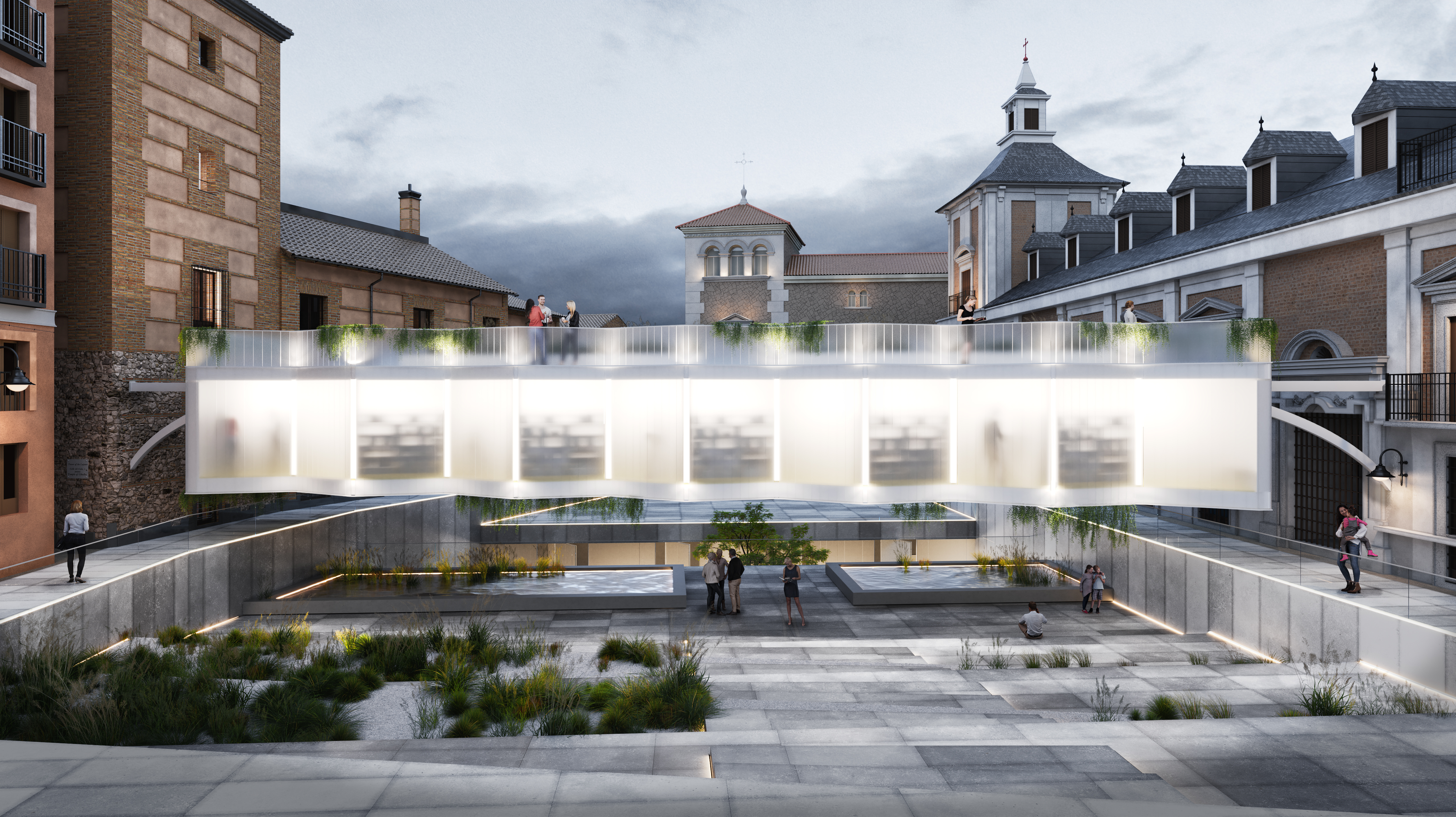 Library Madrid (competition)