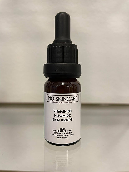 Vitamin B3 niacinamide skin drops