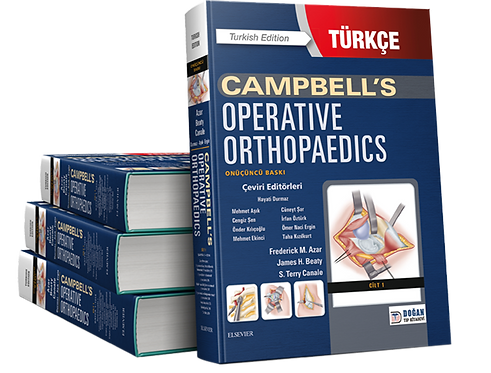2020 Campbell's Operative Orthopaedics 4 Cilt TÜRKÇE