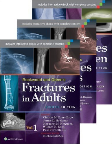 Rockwood & Greens,Wilkins- Fractures in Adults,in Children (3 Cilt)