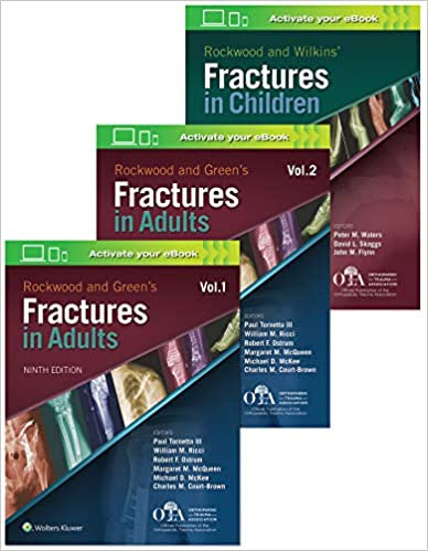 Rockwood 9e Fractures Package ( 3Cilt )