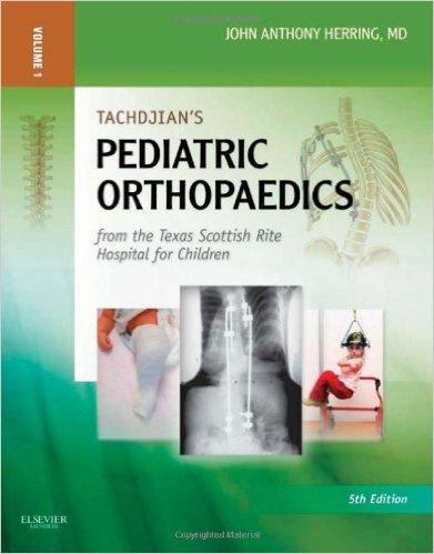 Tachdjian's Pediatric Orthopaedics 3 Volume set