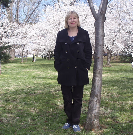 portrait cherry blossoms