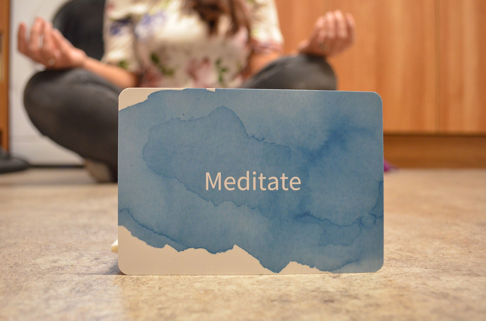 raise up mums resilience cards meditate