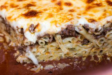 Macaronia tou fournou, a greek pasta dish