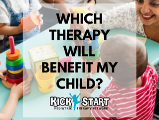 Which therapy will benefit my child?